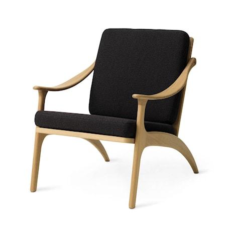 Lean Back Lounge Chair Mocca Oak
