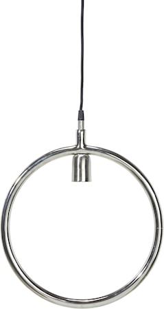 Circle Taklampa Krom 35cm