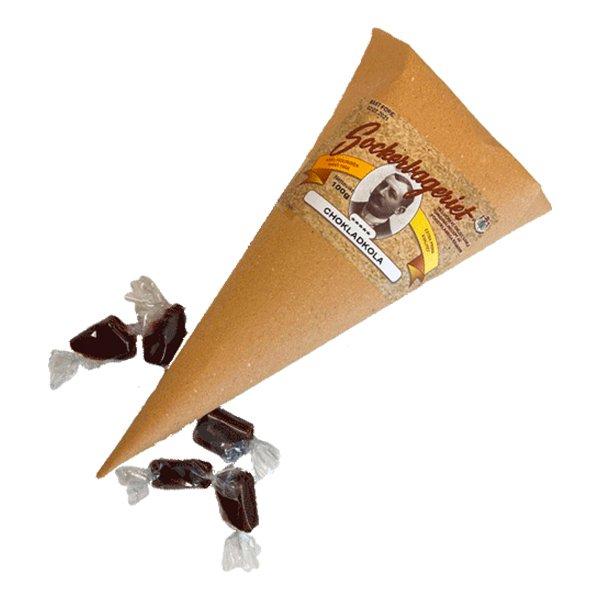 Godisstrut Chokladkola