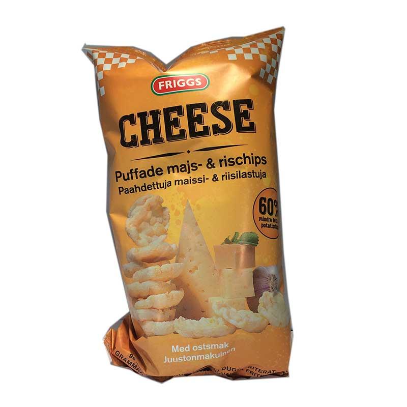 Majs- & rischips Cheese - 70% rabatt