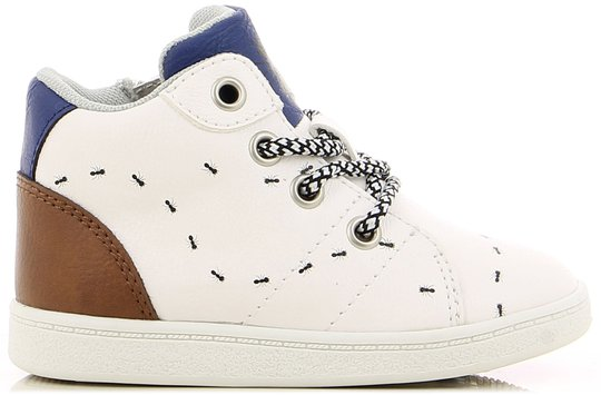 Little Champs Baby Sneaker, White 26