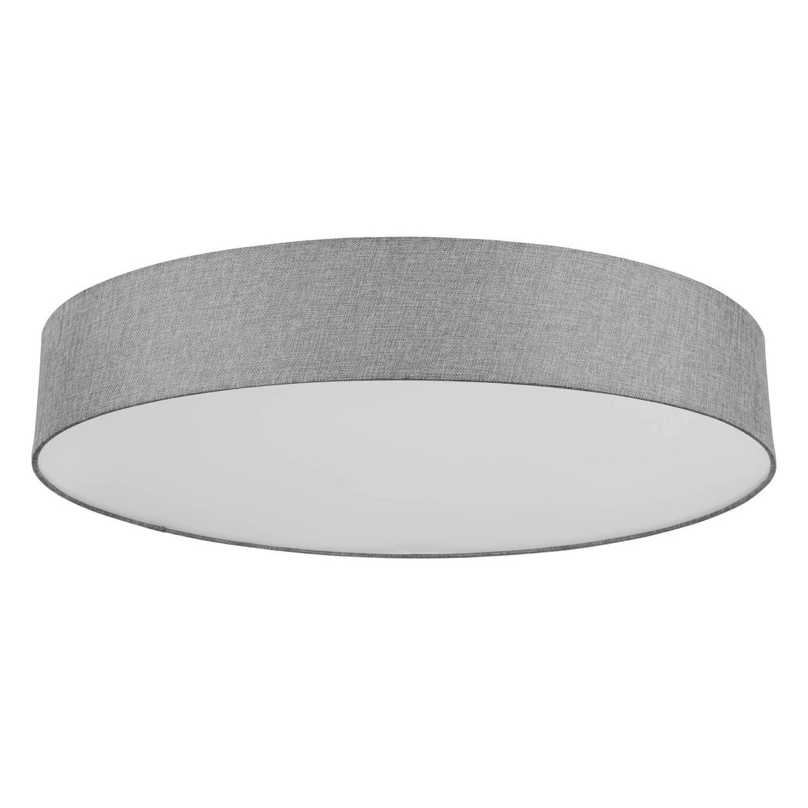 EGLO connect Ramao-C-LED-kattovalaisin harmaa 76cm