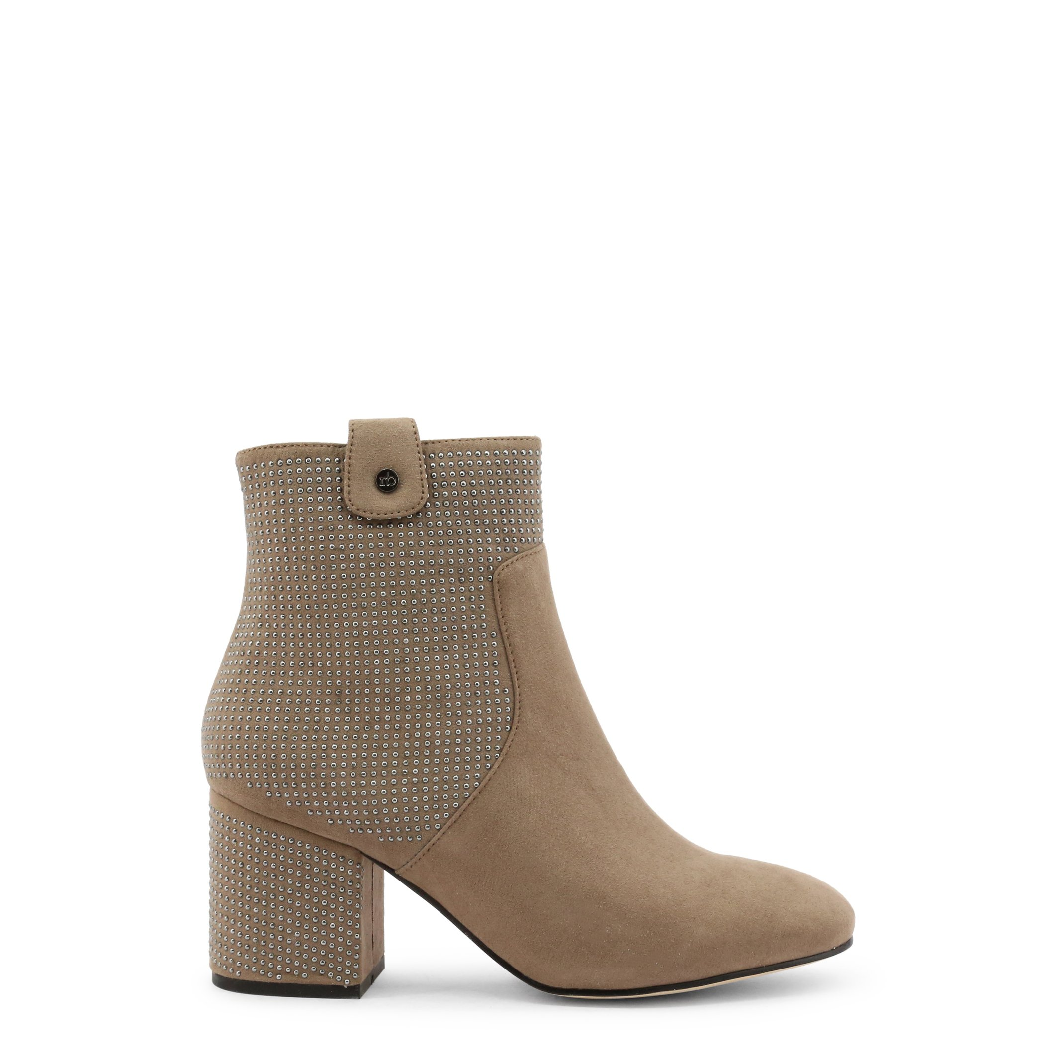 Roccobarocco Women's Ankle Boot Black RBSC1JT01STD - brown EU 37