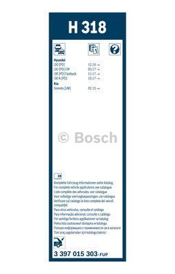 Wiper Blade BOSCH 3 397 015 303