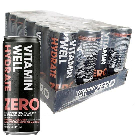 Vitamin Well Raparperi & Mansikka 24kpl - 57% alennus