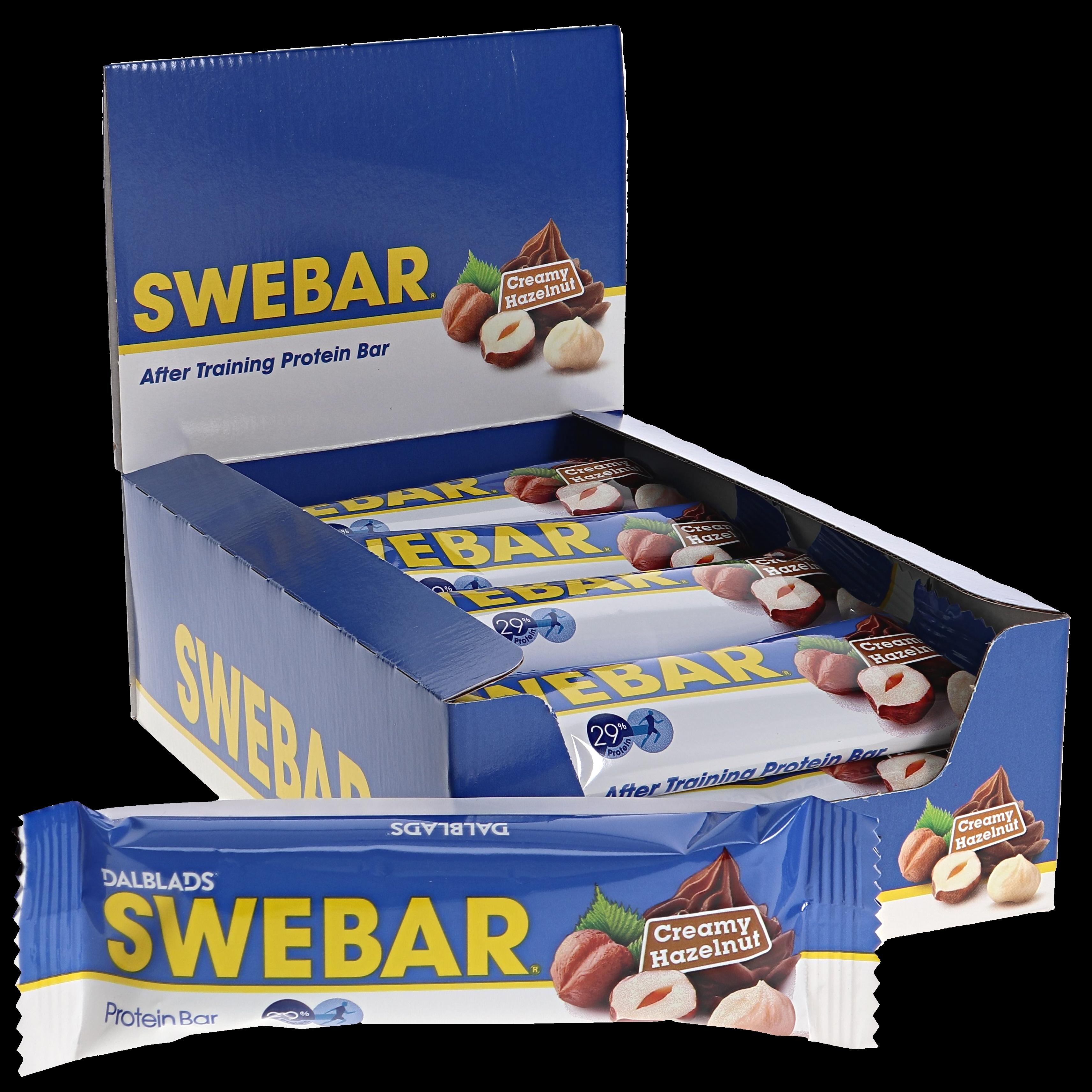 Proteinbars Creamy Hazelnut 15-pack - 33% rabatt