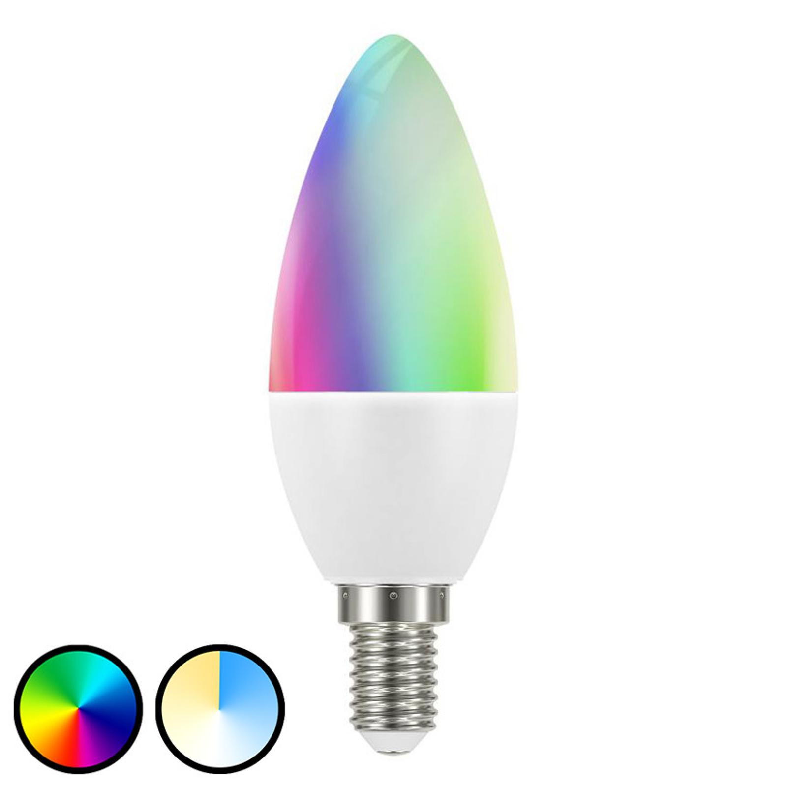 Müller Licht tint white+color -LED-lamppu E14 6W