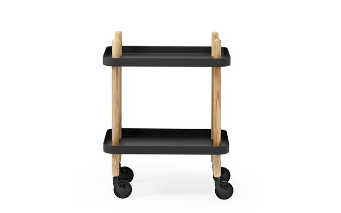 Normann Copenhagen - Block Table - Black (602207)
