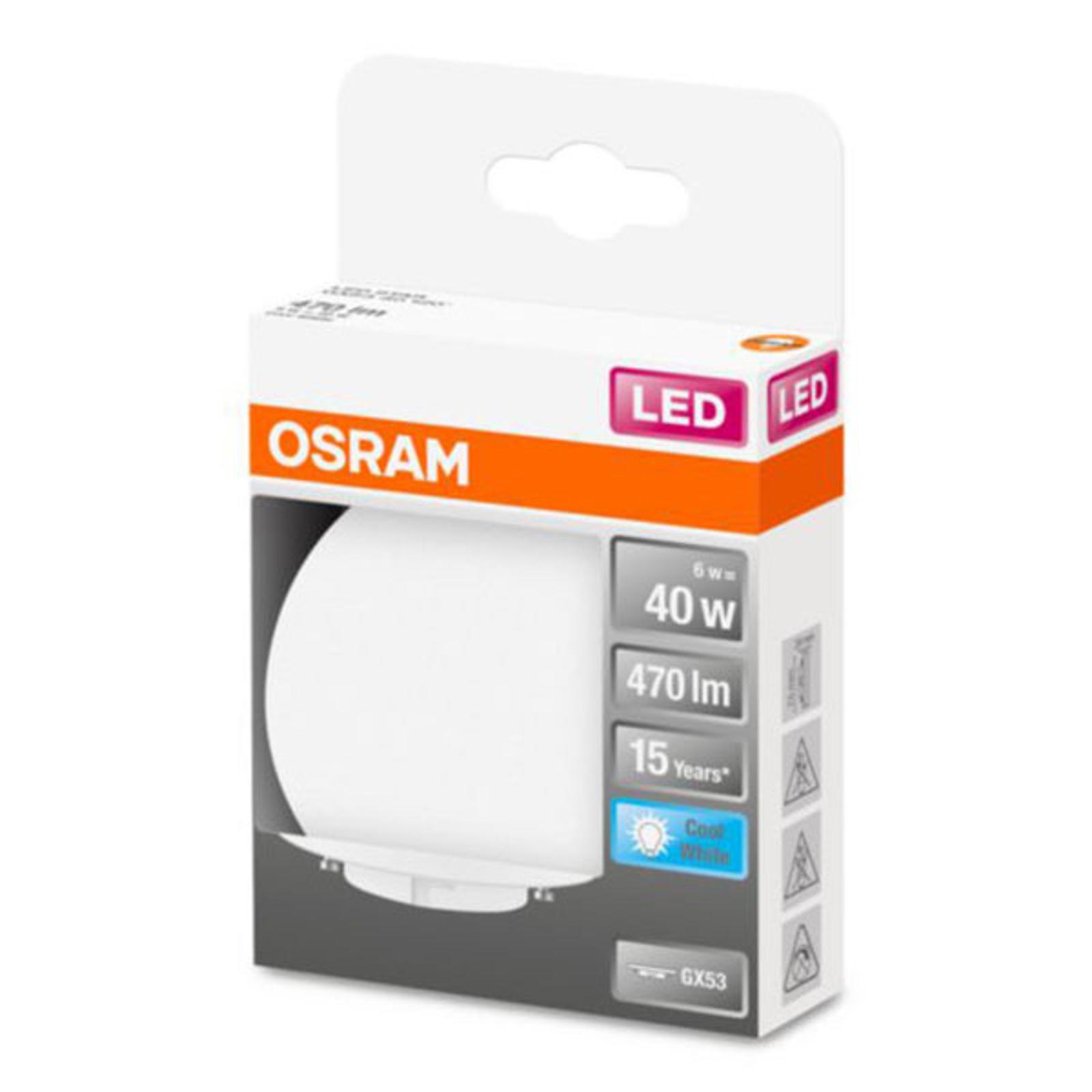 OSRAM Star Special -LED-lamppu GX53 6W 4 000 K