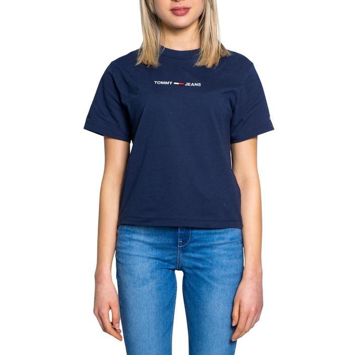 Tommy Hilfiger Jeans Women's T-Shirt Blue 190133 - blue XS