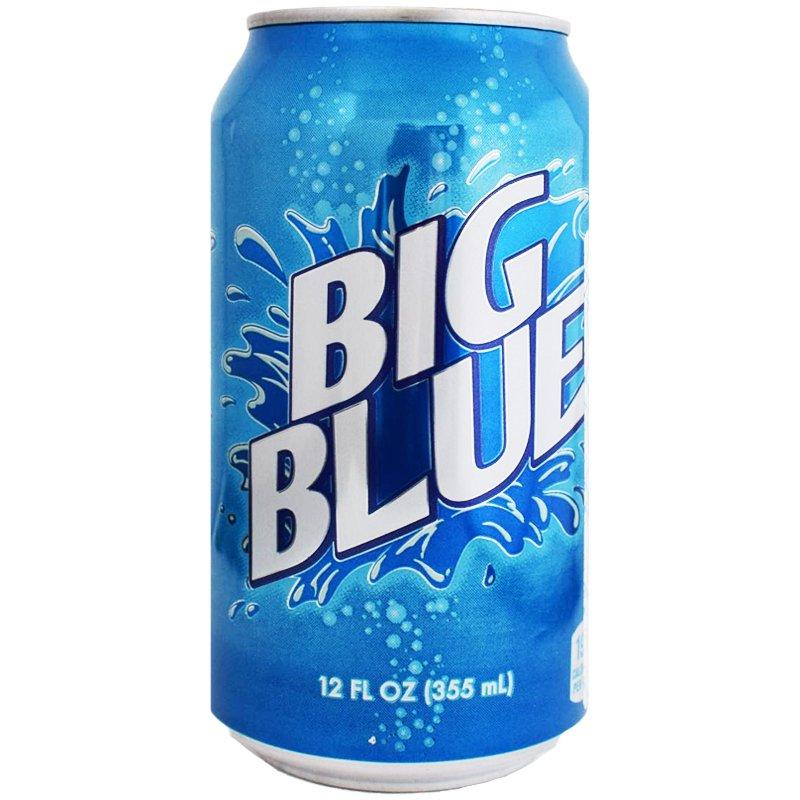 """Läsk """"Big Blue"""" 355ml - 60% rabatt"""