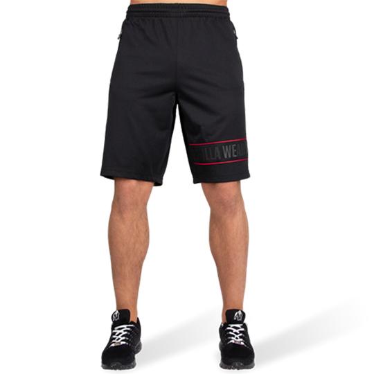 Branson Shorts, Black/Red