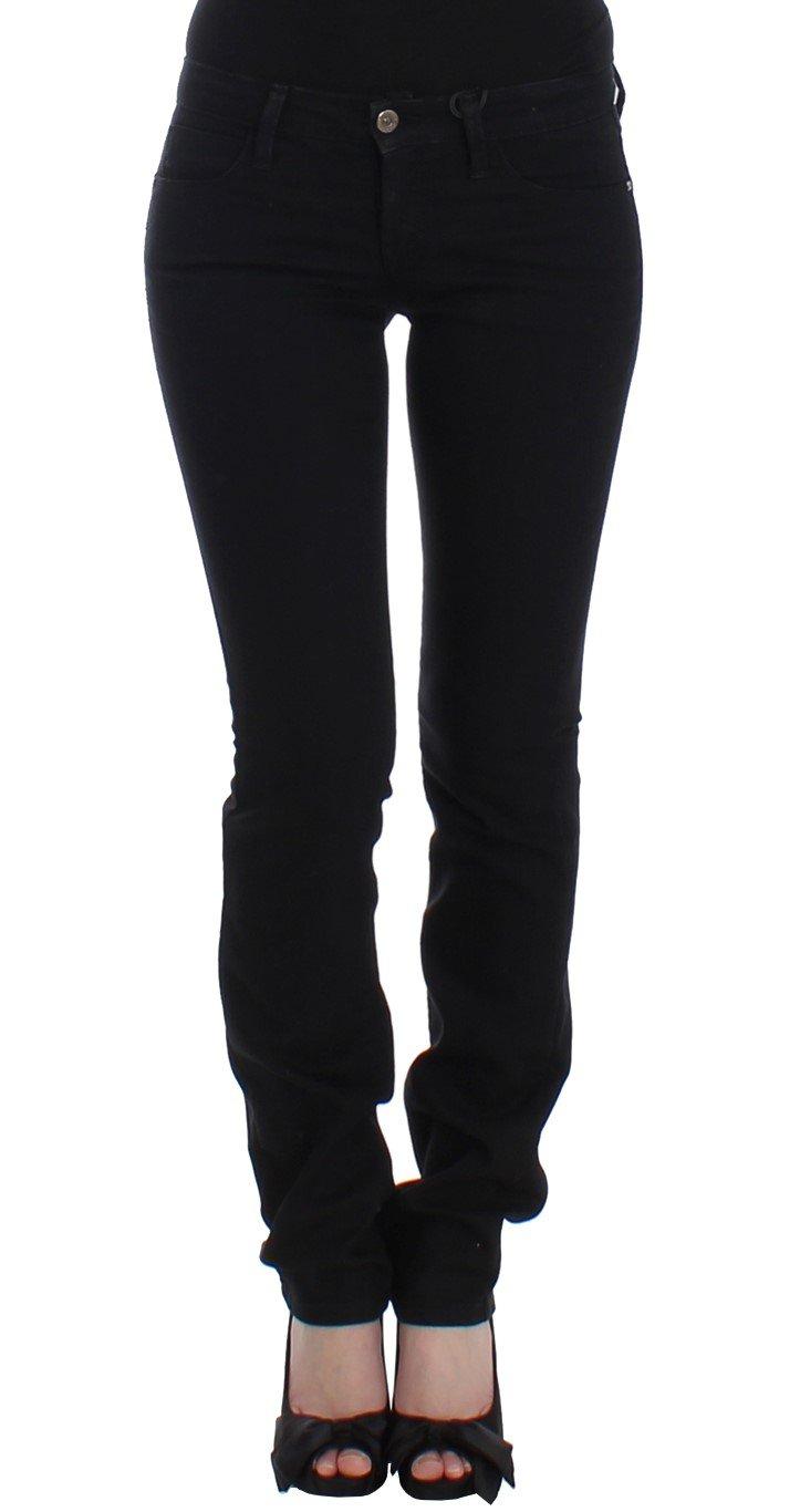 Costume National Women's Straight Leg Jeans Black SIG12469 - W26