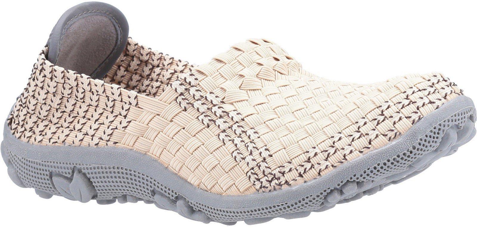 Fleet & Foster Women's Freida Slip On Sandal Various Colours 30118-51139 - Beige 3