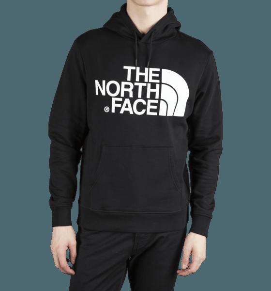 The North Face M Standard Hoodie Hoodies BLACK