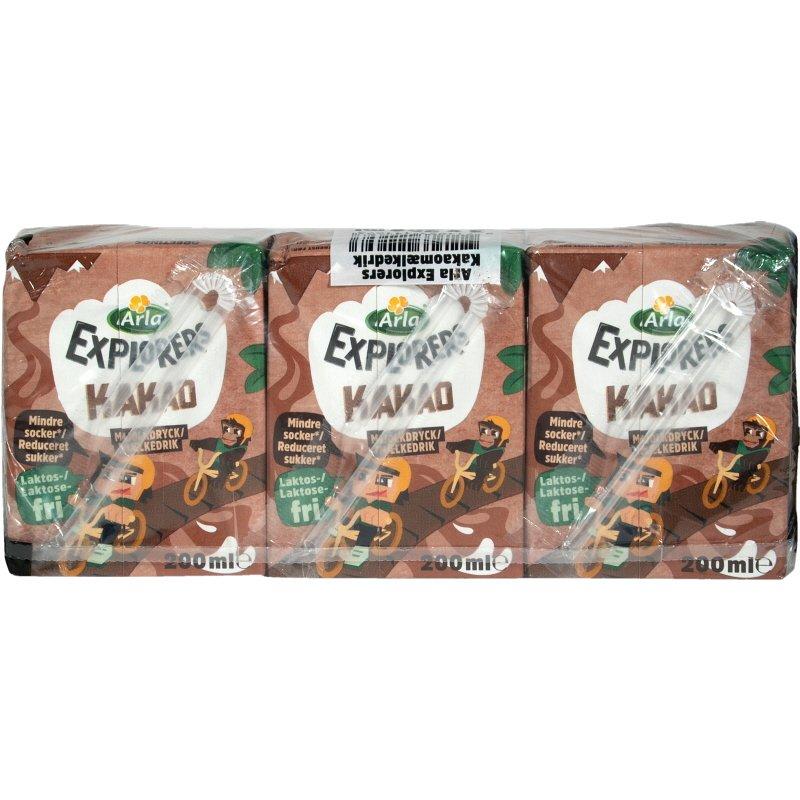 Chokladmjölkdryck 3-pack - 18% rabatt