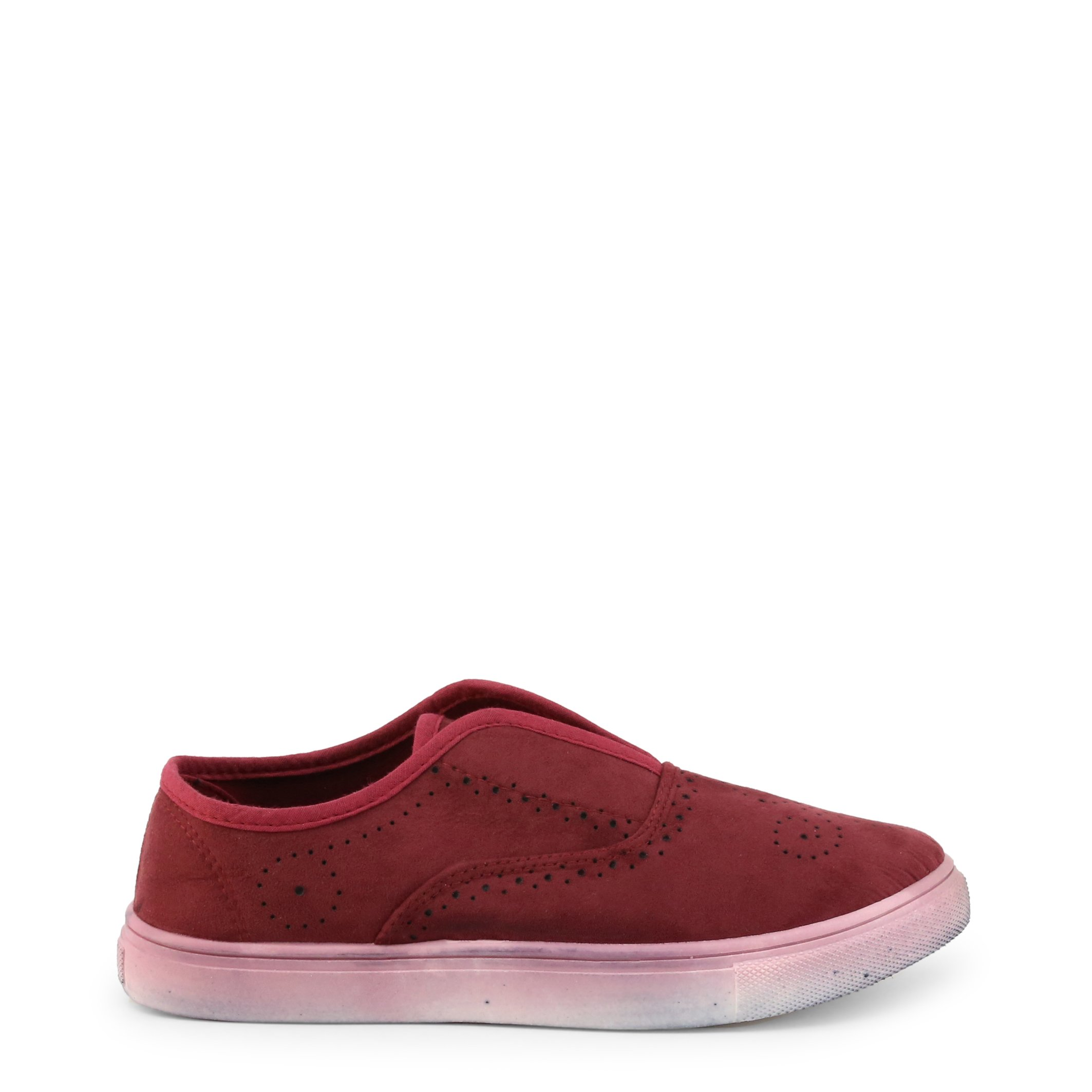 Roccobarocco Women's Slip On Trainer Various Colours RBSC1J801 - red EU 39
