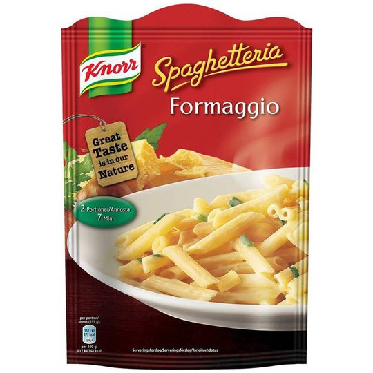 "Pastamix ""Formaggio"" 143g - 33% rabatt"