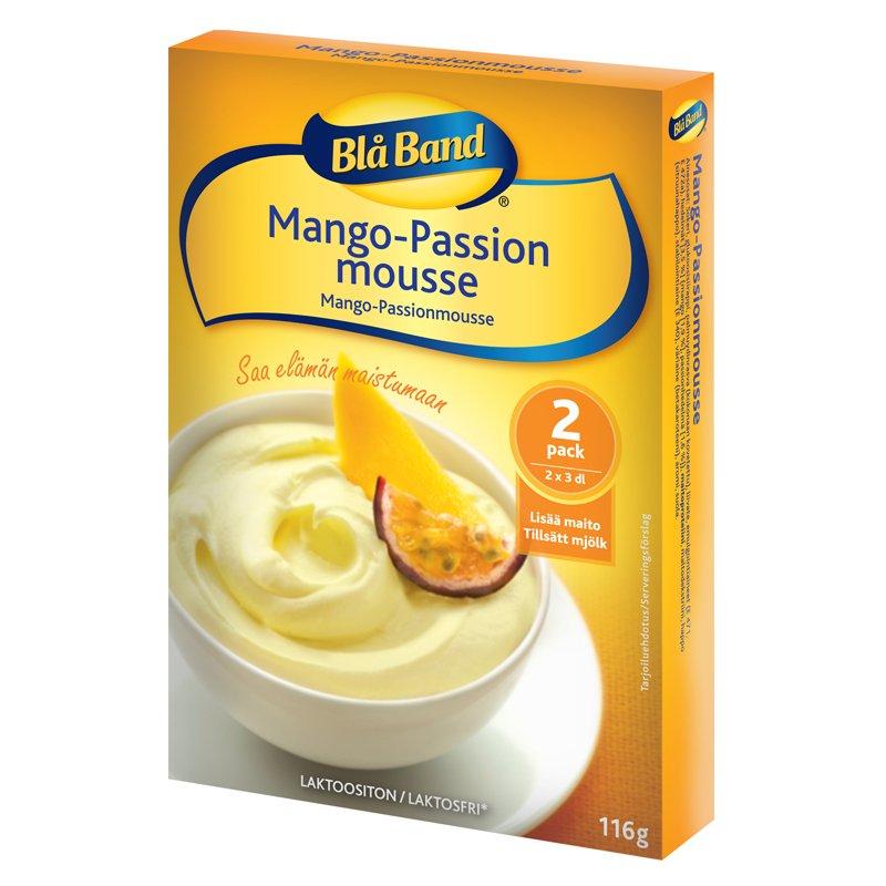 Mango- ja passionmousse 2 x 3 dl - 35% alennus