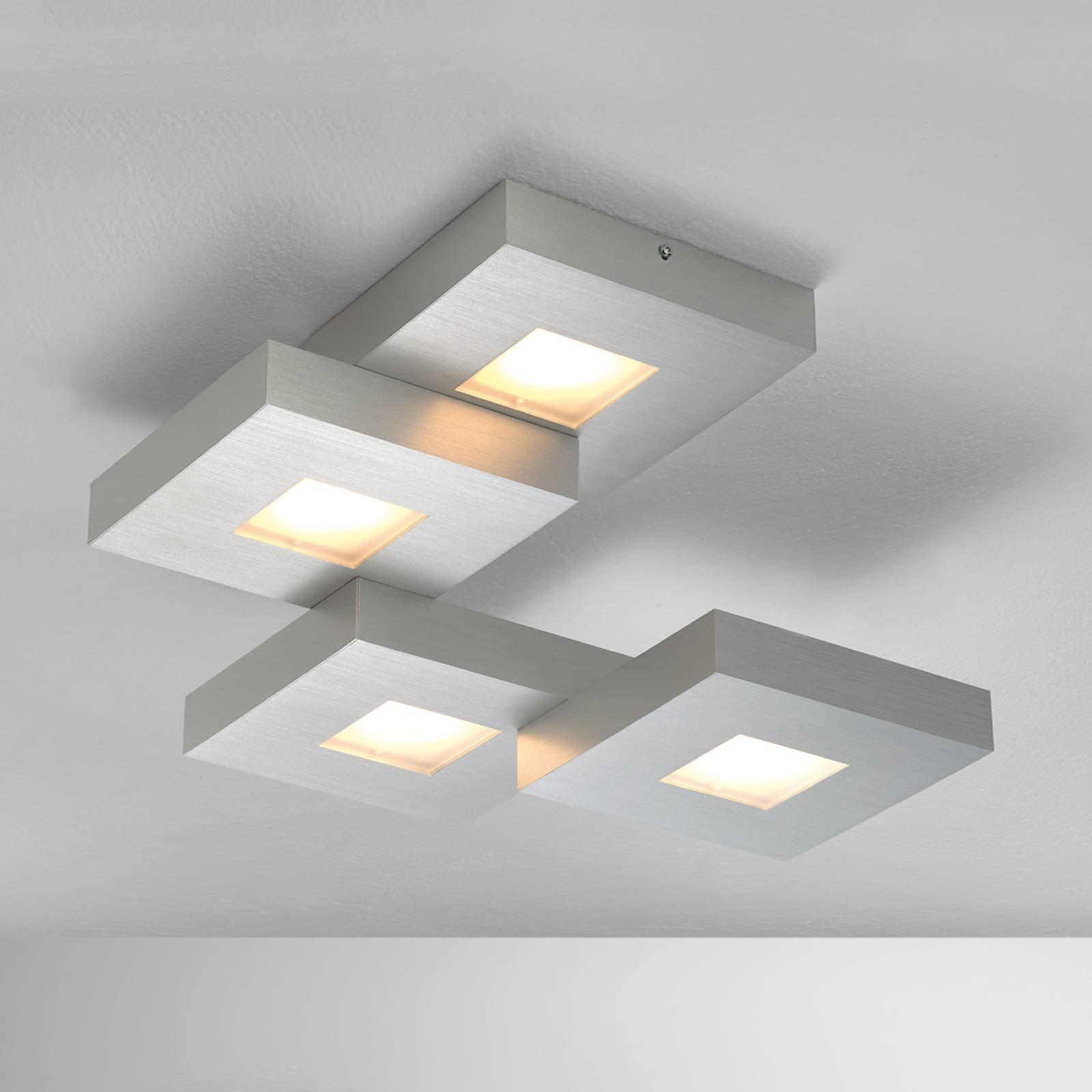 LED-taklampe Cubus med trappeform