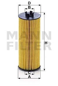 Öljynsuodatin MANN-FILTER HU 6009 z