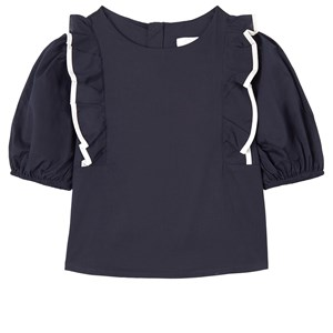 Chloé Frill Blus Marinblå 6 år