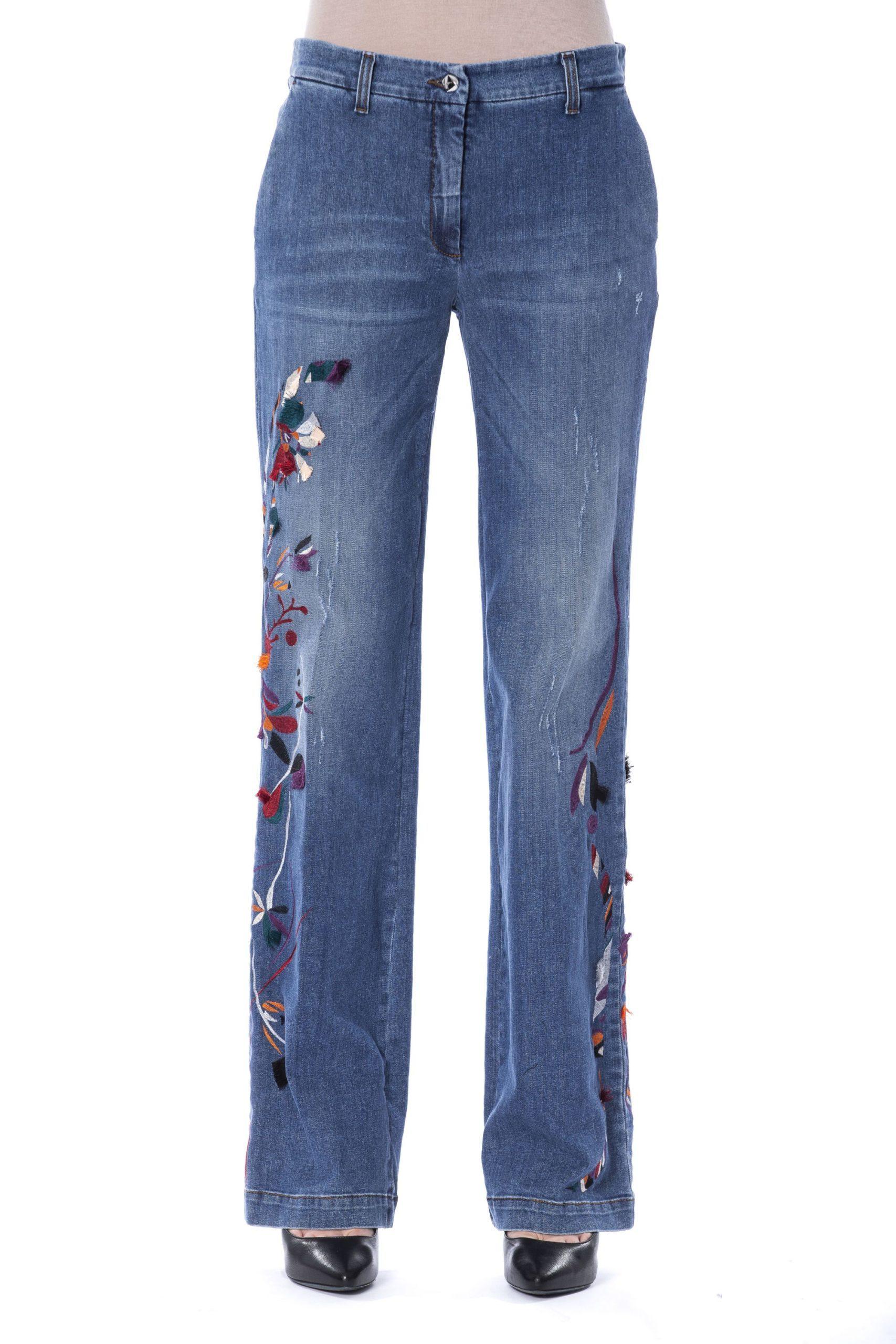 BYBLOS Women's Indigo Jeans Blue BY1263732 - IT40 | XS