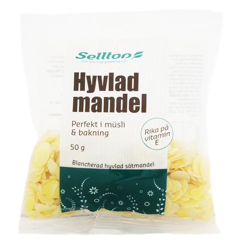 Hyvlad Mandel 50g - 42% rabatt