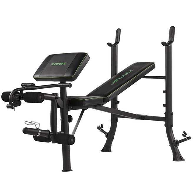 Tunturi Fitness WB40 Compact Width Weight Bench, Träningsbänk