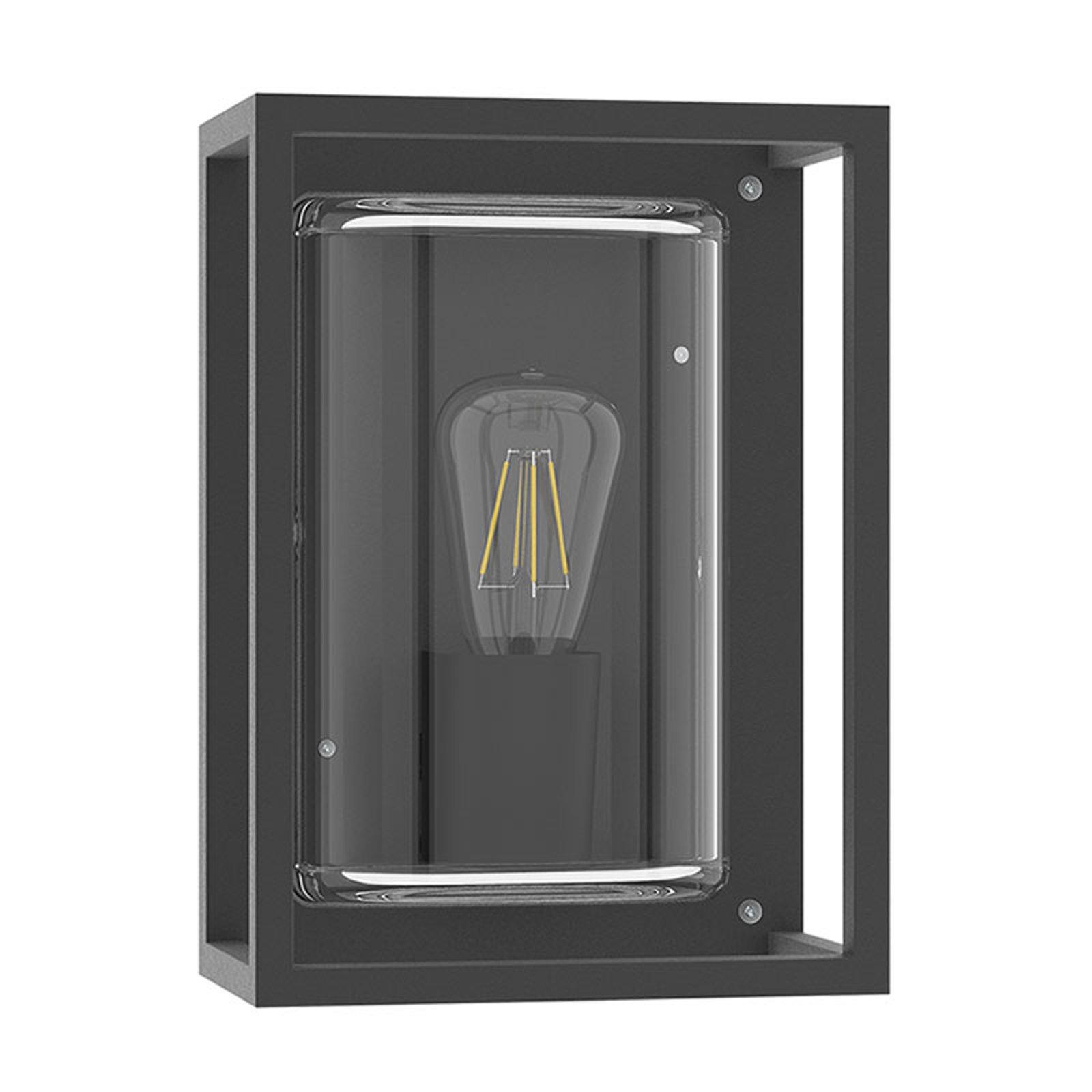 Utendørs vegglampe Lanterna NK 27, E27, antrasitt
