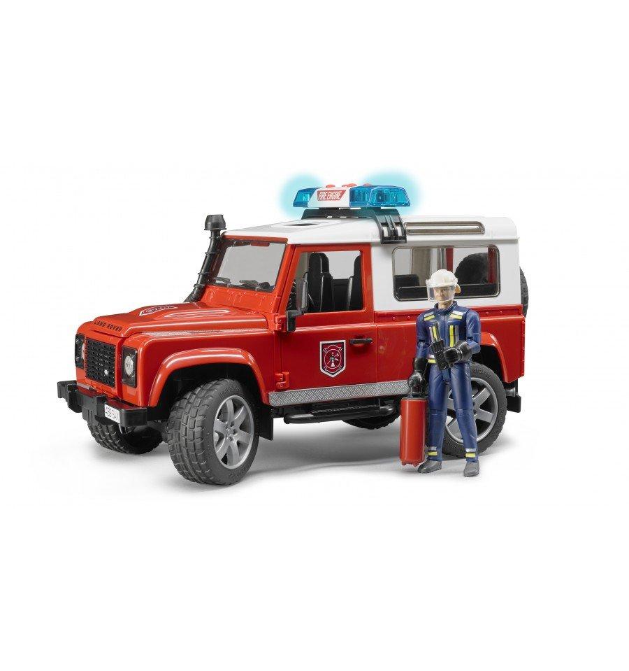 Bruder - Land Rover Defender Fire Department Vehicle (BR2596)