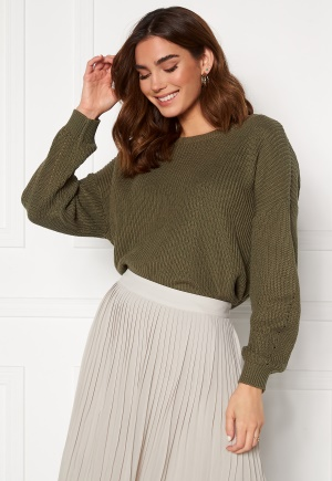 ONLY Hilde Life L/S Pullover Kalamata L