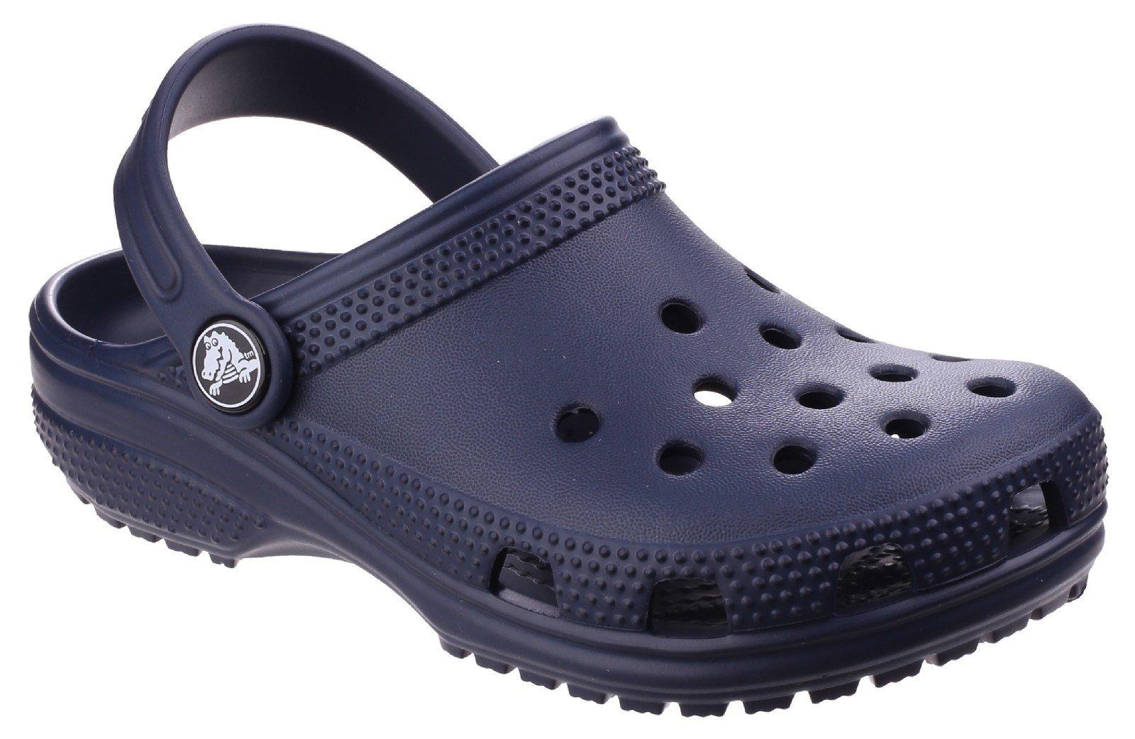 Crocs Kid's Classic Clog Slip On Sandal Various Colours 25239 - Navy 4 UK