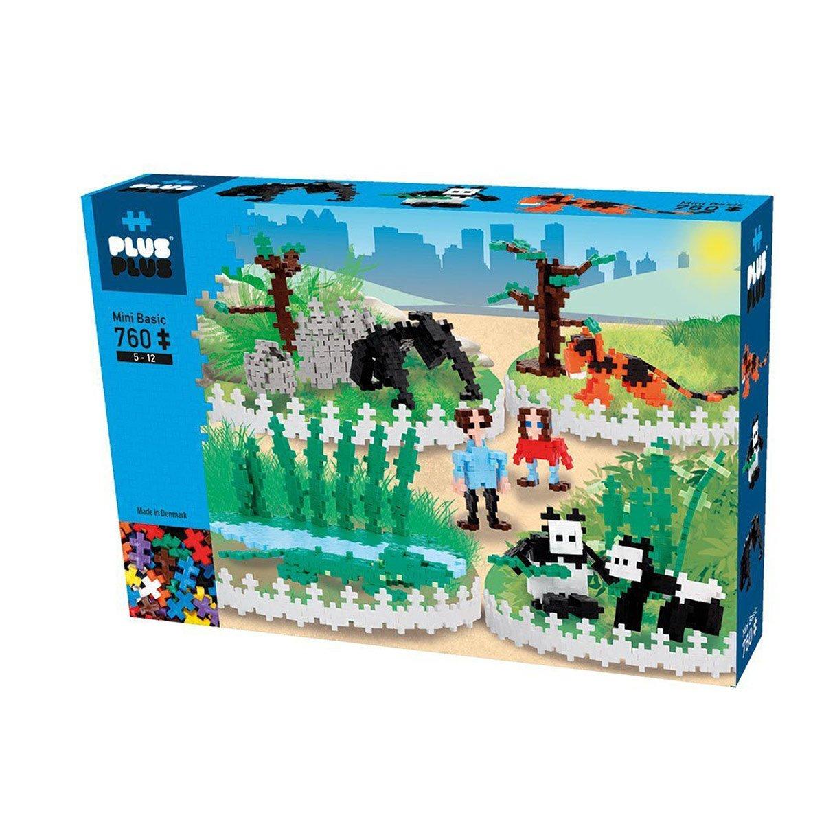 Plus Plus - Mini Basic - Zoo part 2, 760 pc (3763)