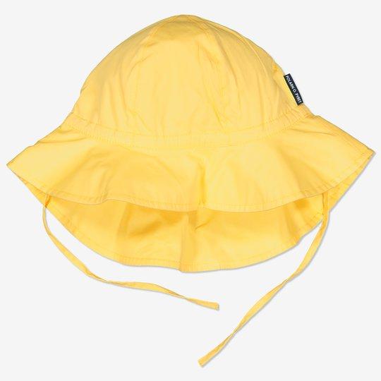 Solhatt med UV-beskyttelse gul