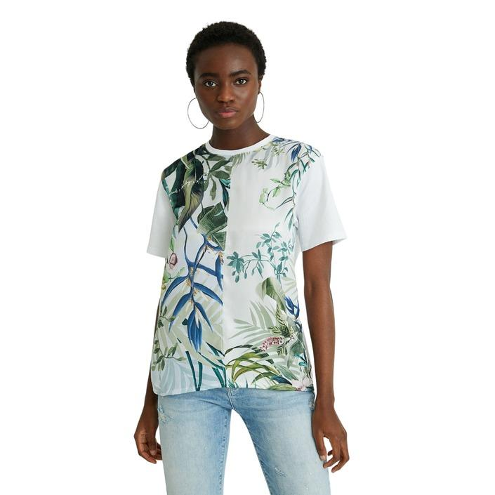 Desigual Women's T-Shirt White 238996 - white XS
