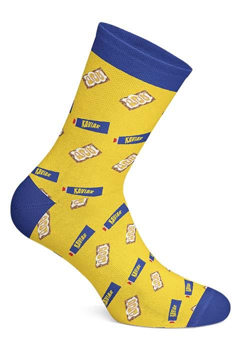 Swedish Fika Socks - Ägg Kaviar