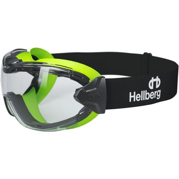 Hellberg Neon+ Suojalasit ELC, meripihkanväriset