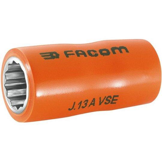 "Facom J.14AVSE Hylsy 3/8"", 14mm, 12 k, 1000V"