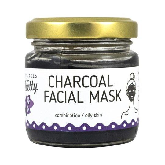 Zoya Goes Pretty Charcoal Facial Mask, 70 g