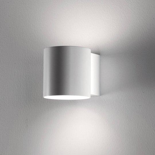 Martinelli Luce Tube vegglampe, metallskjerm 14 cm