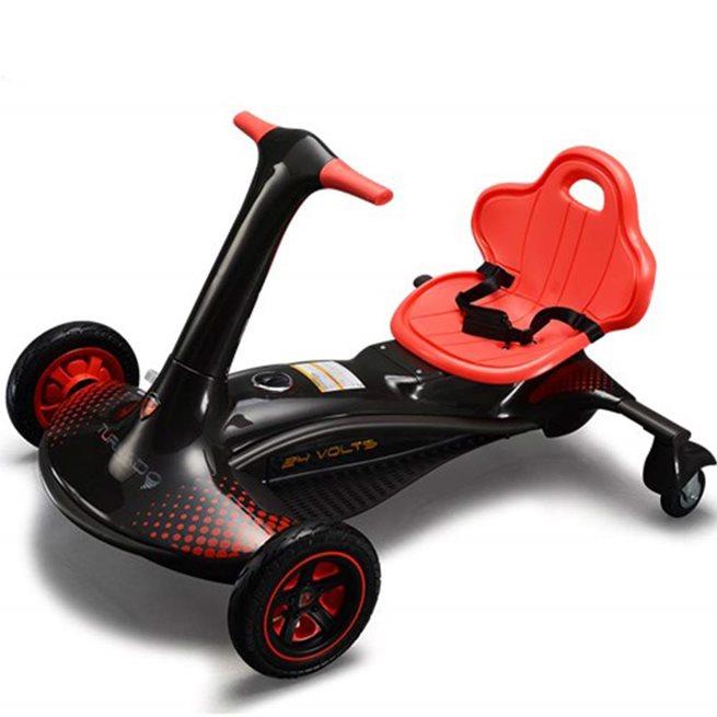 Rollplay Turnado Drift Racer, 24V, Vit, Trampbil