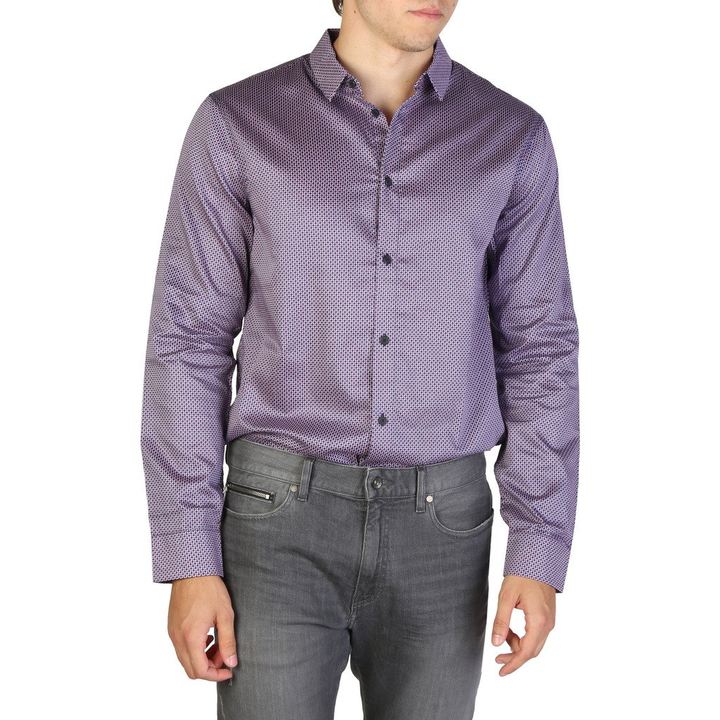 Armani Exchange Men's Shirt Blue 3ZZC45ZN38Z0468 - blue XS