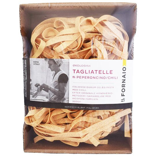 """Eko Pasta """"Tagliatelle Chili"""" 200g - 50% rabatt"""