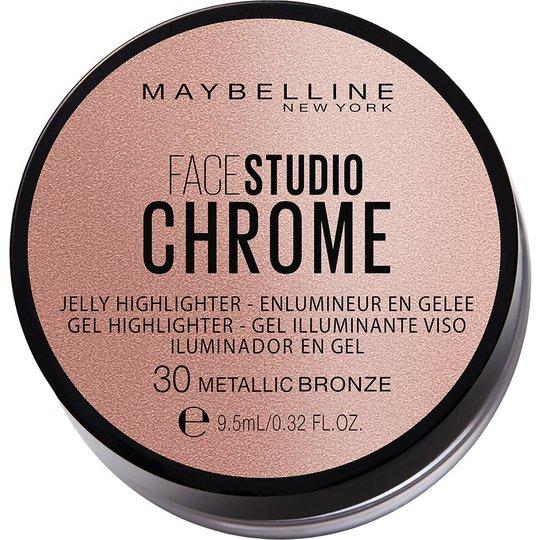 Face Studio Chrome Jelly Highlighter, Maybelline Highlighterit