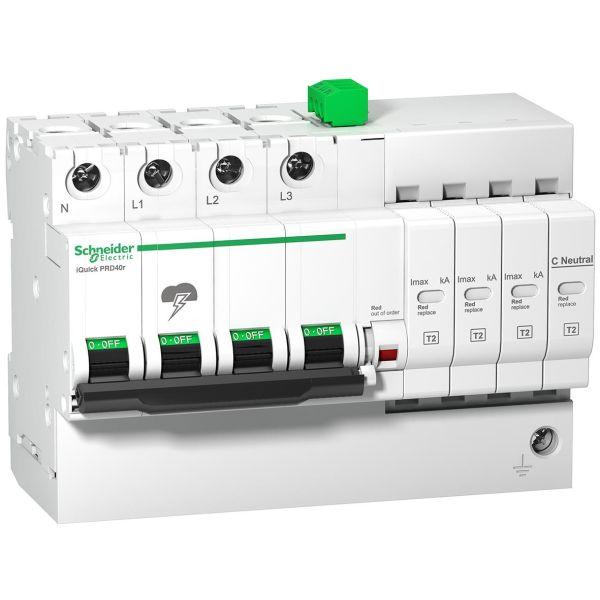 Schneider Electric A9L16300 Overspenningsvern integrert fraskiller 400 V, 1.5 kW