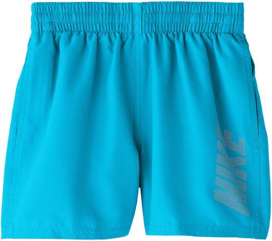 Nike Swim Logo Solid Badeshorts, Light Blue Fury L