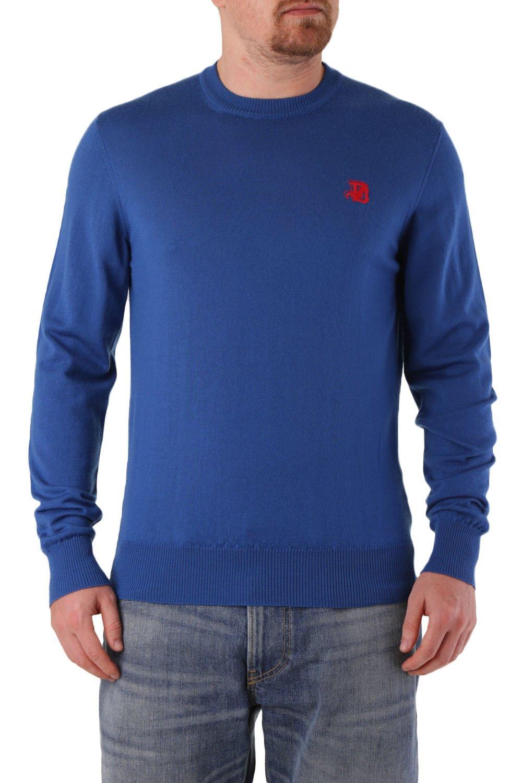 Diesel Men's Sweater Various Colours 312574 - blue-5 L