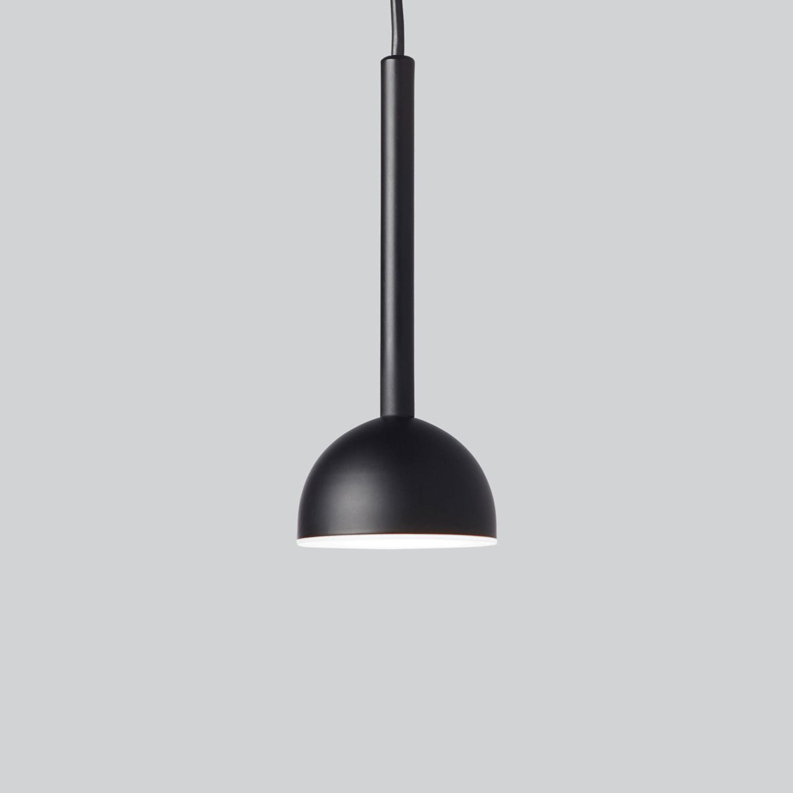 Northern Blush LED-riippuvalaisin, musta