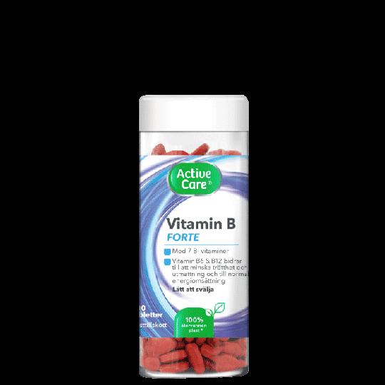 Active Care Vitamin B Forte, 200 tabletter